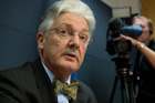 Peter Dunne has admitted he was caught twice on the same day doing 55km/h in a 50km/h speed zone. Photo / Mark Mitchell