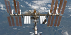 The International Space Station is featured in this image photographed by an STS-133 crew member. Photo / AP