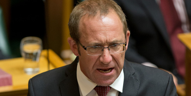 Labour leader Andrew Little said he wants to see foreign trusts banned altogether. Photo / Mark Mitchell