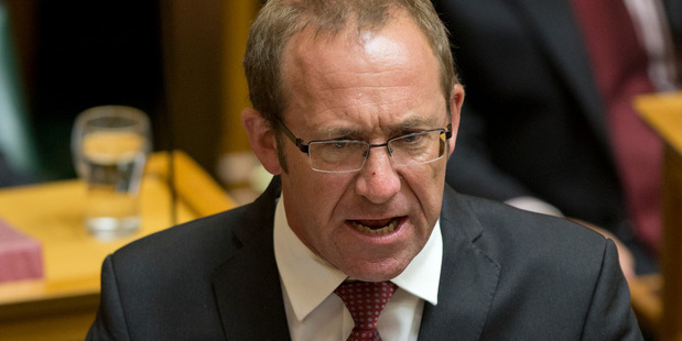 Labour leader Andrew Little has been threatened with defamation action. Photo / Mark Mitchell