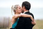 Jordan Mauger kisses Fleur Verhoeven in the final episode of the Bachelor. Photo / Supplied