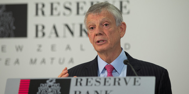 Reserve Bank Governor Graeme Wheeler indicated the Bank is looking at the possibility of introducing new lending restrictions or tightening existing ones. Photo / Mark Mitchell