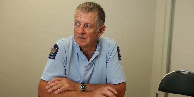 Family violence co-ordinator Detective Sergeant Jason Perry. Photo / John Borren
