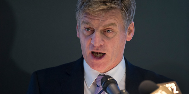 Finance Minister Bill English confirmed that the Government would instead prioritise paying down national debt. Photo: Mark Mitchell