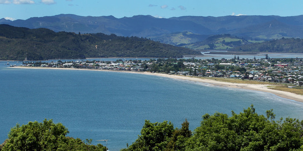 Ocean vistas in places like Coromandel's Mercury Bay can help you relax. Photo / Alan Gibson