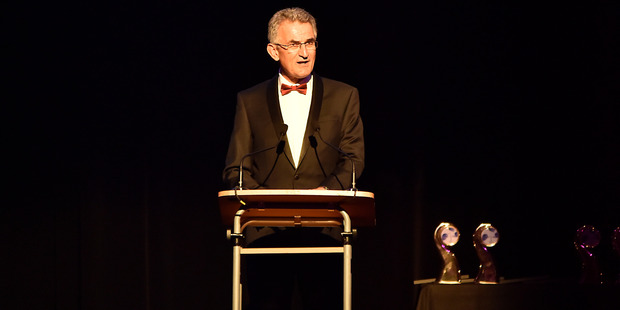 Stan Gregec at last year's Westpac Tauranga Business Awards.