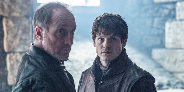 Roose Bolton and Ramsay Bolton. Photo / HBO