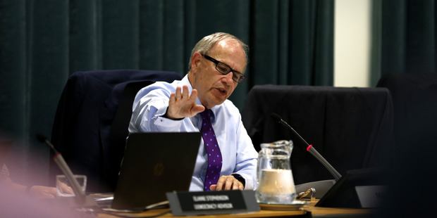 Credit rating agencies have warned of a rating downgrade if its debt-to-revenue ratio approaches 270 per cent. Mayor Len Brown's latest budget forecasts a ratio of 265 per cent. Photo / Dean Purcell