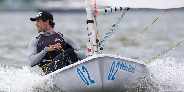 Tauranga's Sam Meech has been selected as part of New Zealand's Olympic sailing team. Photo/file