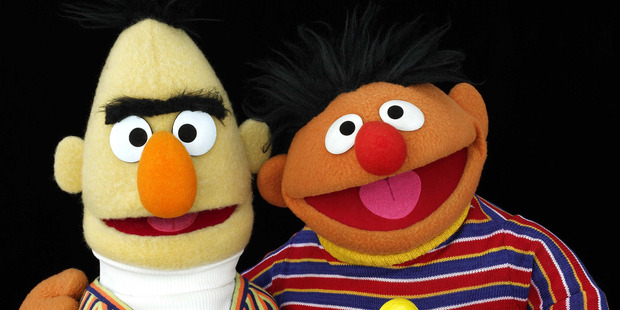 Pop culture geeks have long swapped theories about cartoonish characters who maybe-sort of gave off a gay vibe such as Bert and Ernie. Photo / Supplied