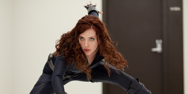 Loading Scarlett Johansson as Black Widow. Photo / Marvel