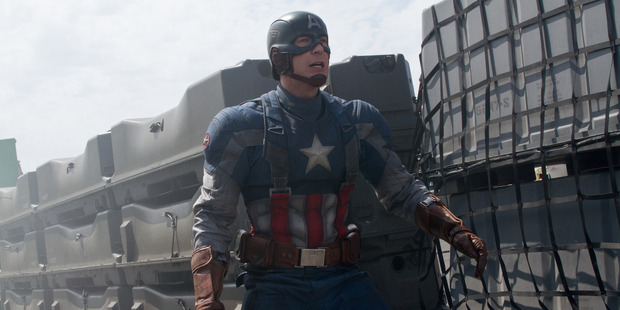 Chris Evans as Captain America. Photo / Marvel