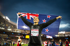 Valerie Adams in Commonwealth Games 2014. Photo / Mark Mitchell