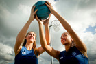 Napier Girls' High School students Jaydi Chaffey-Taylor (left) and Briana Stephenson. Photo / Warren Buckland