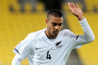 New Zealand's Winston Reid. Photo / Ross Setford.
