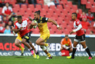 Matt Proctor of the Hurricanes during the round 10 Super Rugby match between Lions and Hurricanes. Photo / Getty Images