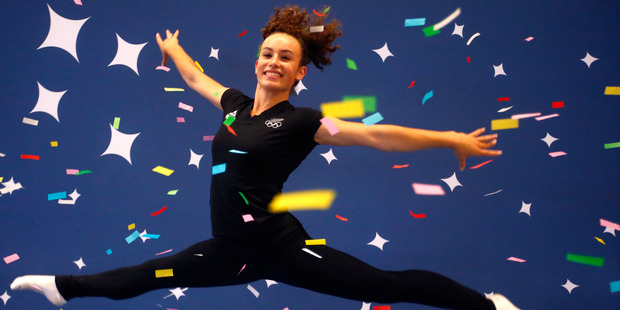 Loading New Zealand gymnast Courtney McGregor. Photo / File
