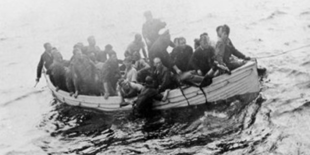 Twenty-six survivors from HMS Puriri were saved from the water by HMS Gale.