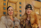 Art Deco's Sally Jackson (left) and council marketing's Rebecca Ainsworth will be spreading the
