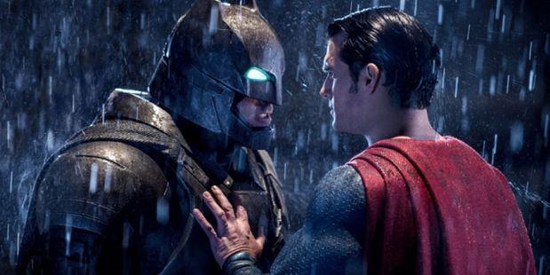 Batman takes on Superman in Batman v Superman: Dawn of Justice.