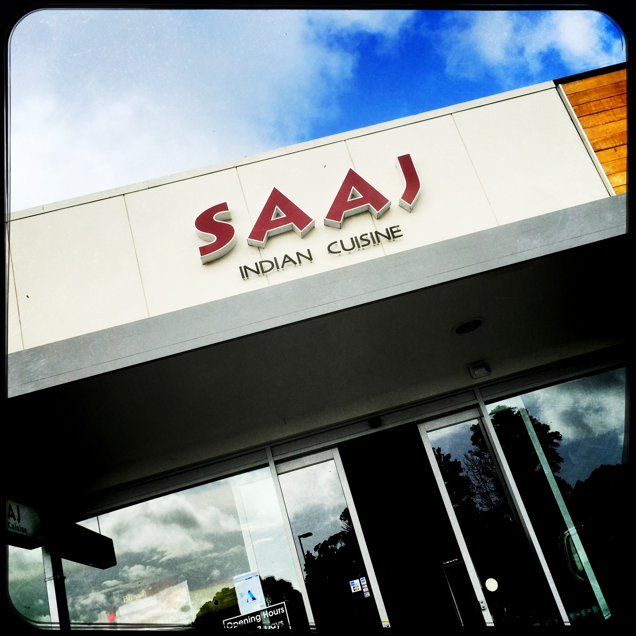 Saaj operates like a food hall, with buffet curries and also has a menu. Photo / Michael Craig