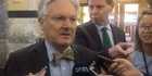 Watch: Watch: Peter Dunne apologises for calling reporter 'mad'