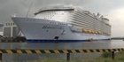 Watch: Watch: World's biggest cruise ship delivered in France