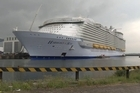 The world's biggest-ever cruise ship, the 120,000-tonne Harmony of the Seas, capable of accommodating more than 8,000 passengers and crew in the most luxurious conditions, was delivered on Thursday from a French boatyard.