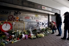 The Brussels subway station where a suicide bomber killed 16 people reopened three weeks ago. Photo / AP