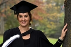 Dr Claire French will graduate from Otago University with a bachelor of medicine and bachelor of surgery. Photo / Otago Daily Times