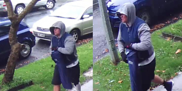 Police say this man can help in their investigation into a security van hold up in Auckland CBD in January.