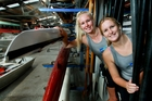 Hawke's Bay rowers Georgia King, left, and Jessica Turfrey have been selected for the junior world championships in Rotterdam. Photo / Warren Buckland