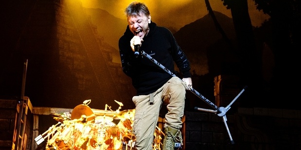 The arena attracts top performers such as Bruce Dickinson of Iron Maiden. Photo / Alexander Hallag