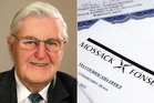 Former South Canterbury Finance chairman, the late Allan Hubbard has been named in the leak.