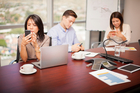 Onslaught of emails and pointless meetings can waste valuable time at work. Photo / iStock