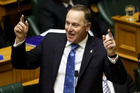 John Key was kicked out of Parliament by the Speaker. Photo / Getty Images