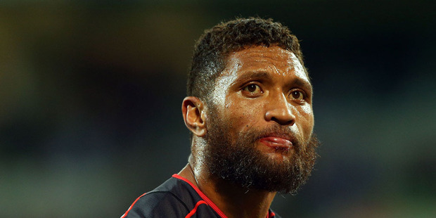 Warriors coach Andrew McFadden is unsure when Manu Vatuvei will return to first grade action - but it may not be as early as next week. Photo / Getty Images.