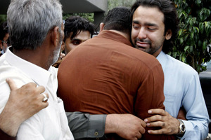 Son of Pakistani ex-PM rescued from Taliban