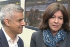 During a meeting with London's new mayor Sadiq Khan, Paris mayor Anne Hidalgo was asked about Trumps policy of banning Muslims from entering the U.S.