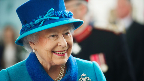The Queen in attendance at Royal Windsor Horse Show