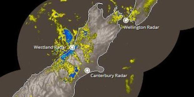 The west coast of the South Island can expect squally thunderstorms after lunch. Photo / MetService