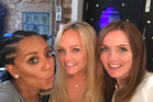 Scary, Baby and Ginger Spice, back together again. Photo / Instagram