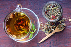 Liquorice herbal tea can help to increase cortisol, support adrenal health, reduce fatigue and help the body cope better with stress. Photo / iStock