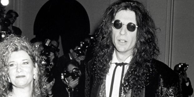 Alison Stern and Howard Stern. Photo / Getty Images