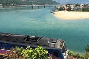 Apparently this is where they stopped on Top Gear during their drive to Hue, in Vietnam. Pretty idyllic spot - Eli