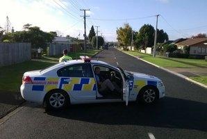 Armed police are in Bureta. Photo/John Borren