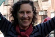 TriBeCa resident Suellen Epstein.