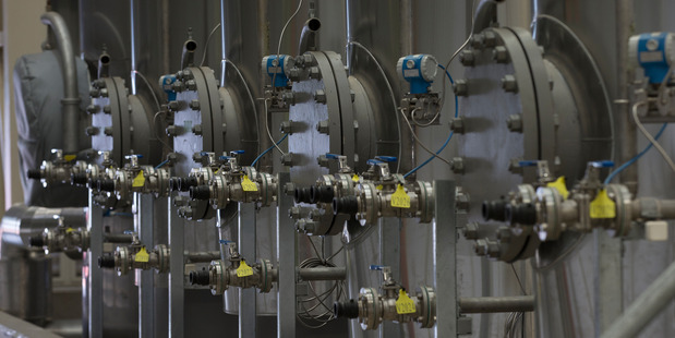 Z Energy biodiesel plant in Wiri, South Auckland. Photo / Brett Phibbs