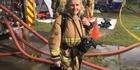 Firefighter burns down her house