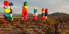 The Seven Magic Mountains will be on display until 2018. Photo / James Marvin Phelps, Flickr